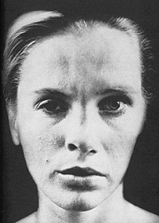 "The juxtaposition of the Actress (Liv Ullman) and the Nurse (Bibi Andersson) in Ingmar Bergman's ""Persona""."